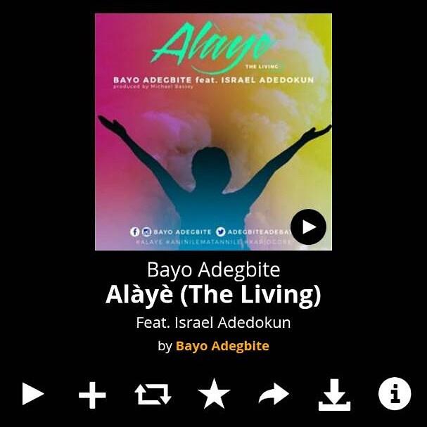 DOWNLOAD MUSIC:  ALÀYÈ – BAYO ADEGBITE